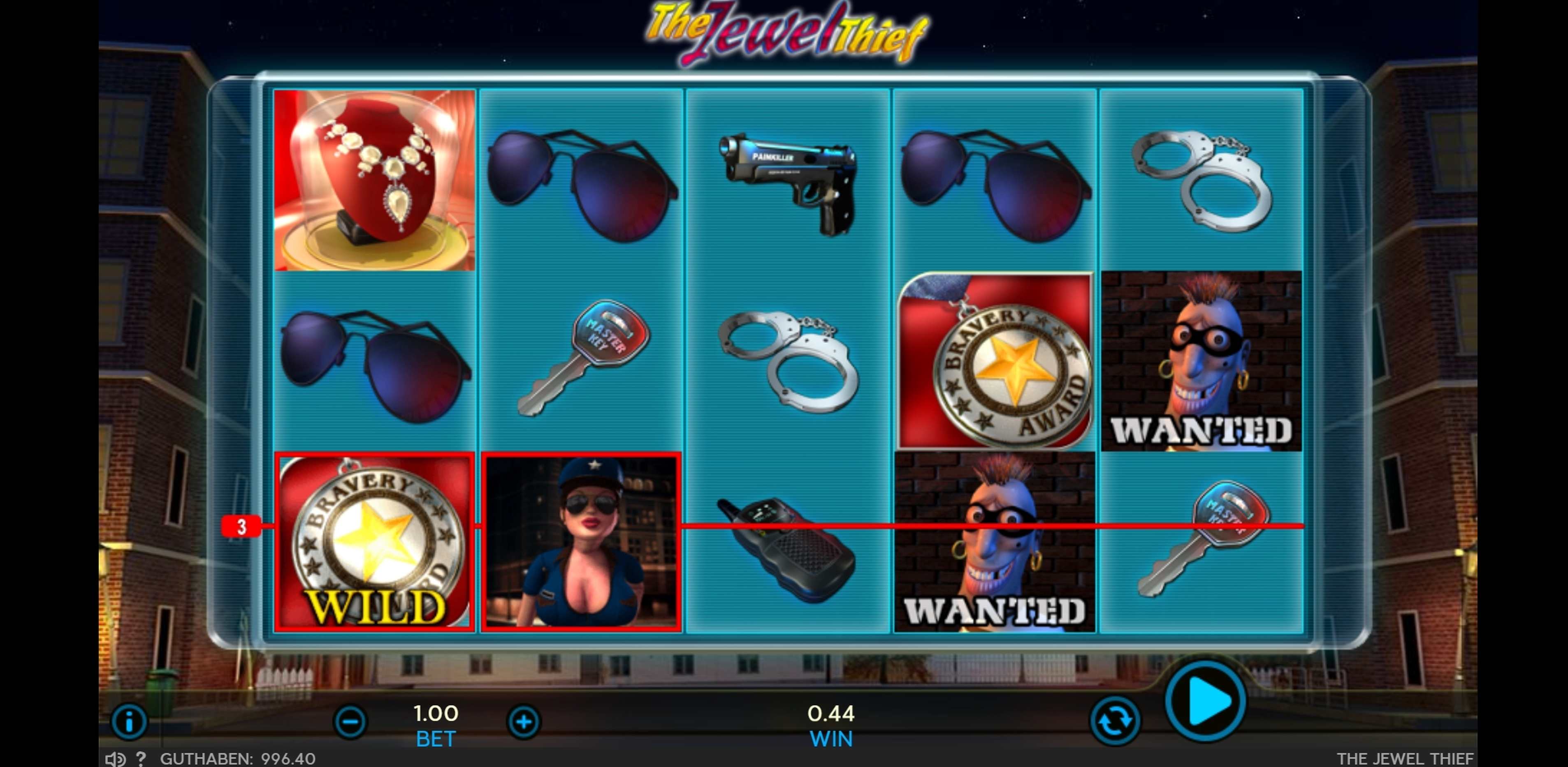 Win Money in The Jewel Thief Free Slot Game by Sigma Gaming