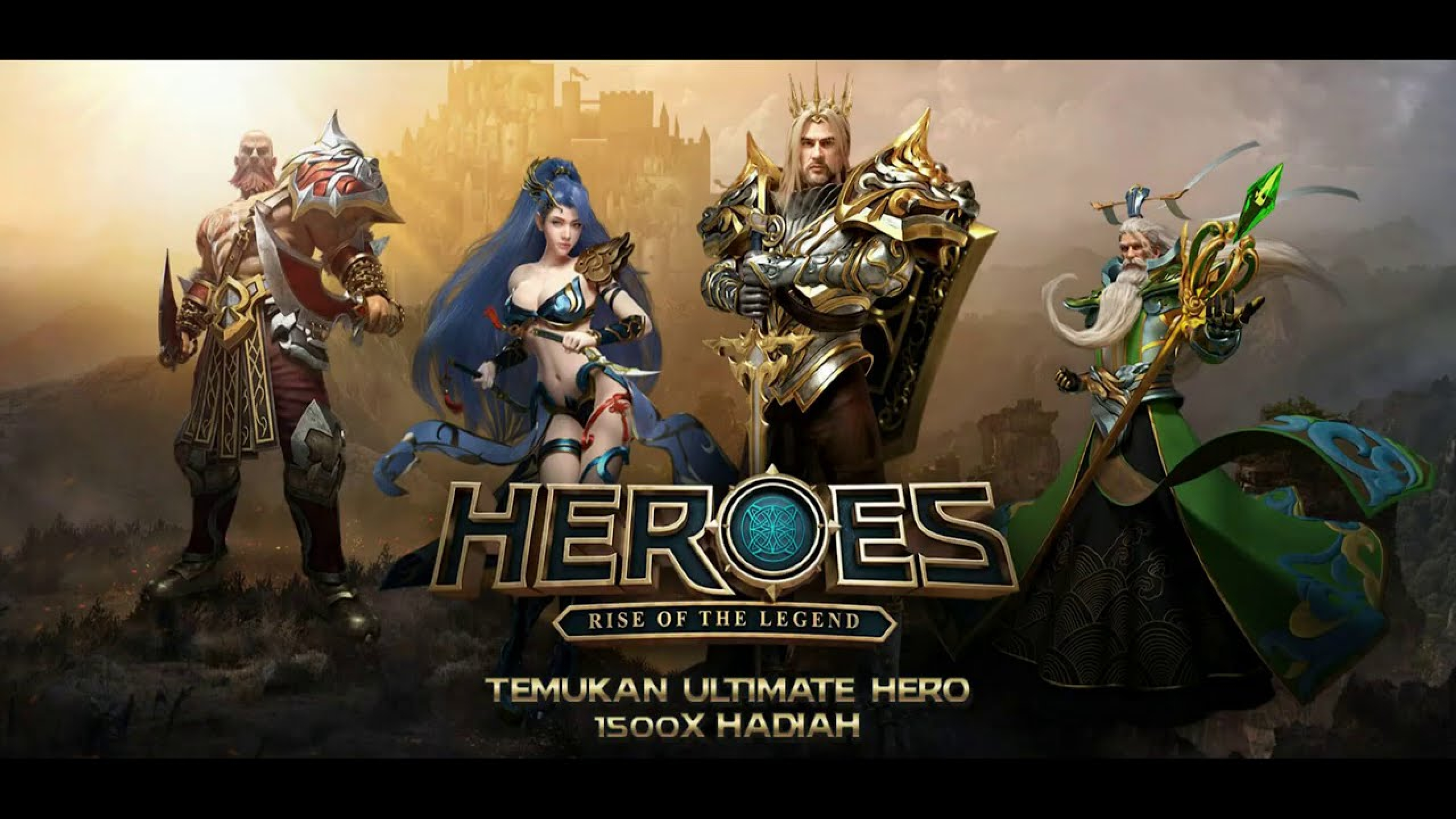 The Heroes Rise of the Legend Online Slot Demo Game by Spade Gaming