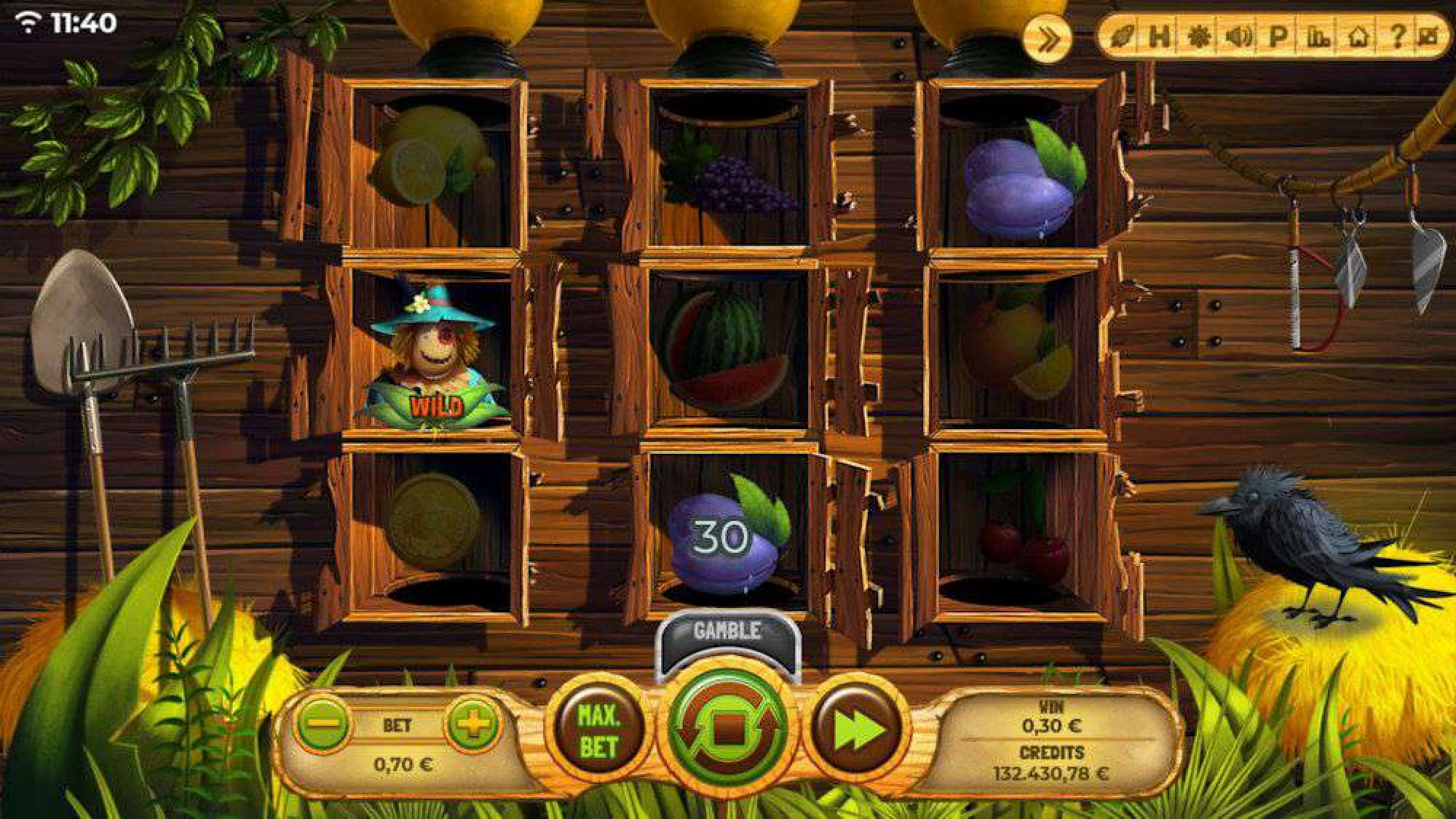 The Fruit Farm (Spinmatic) Online Slot Demo Game by Spinmatic