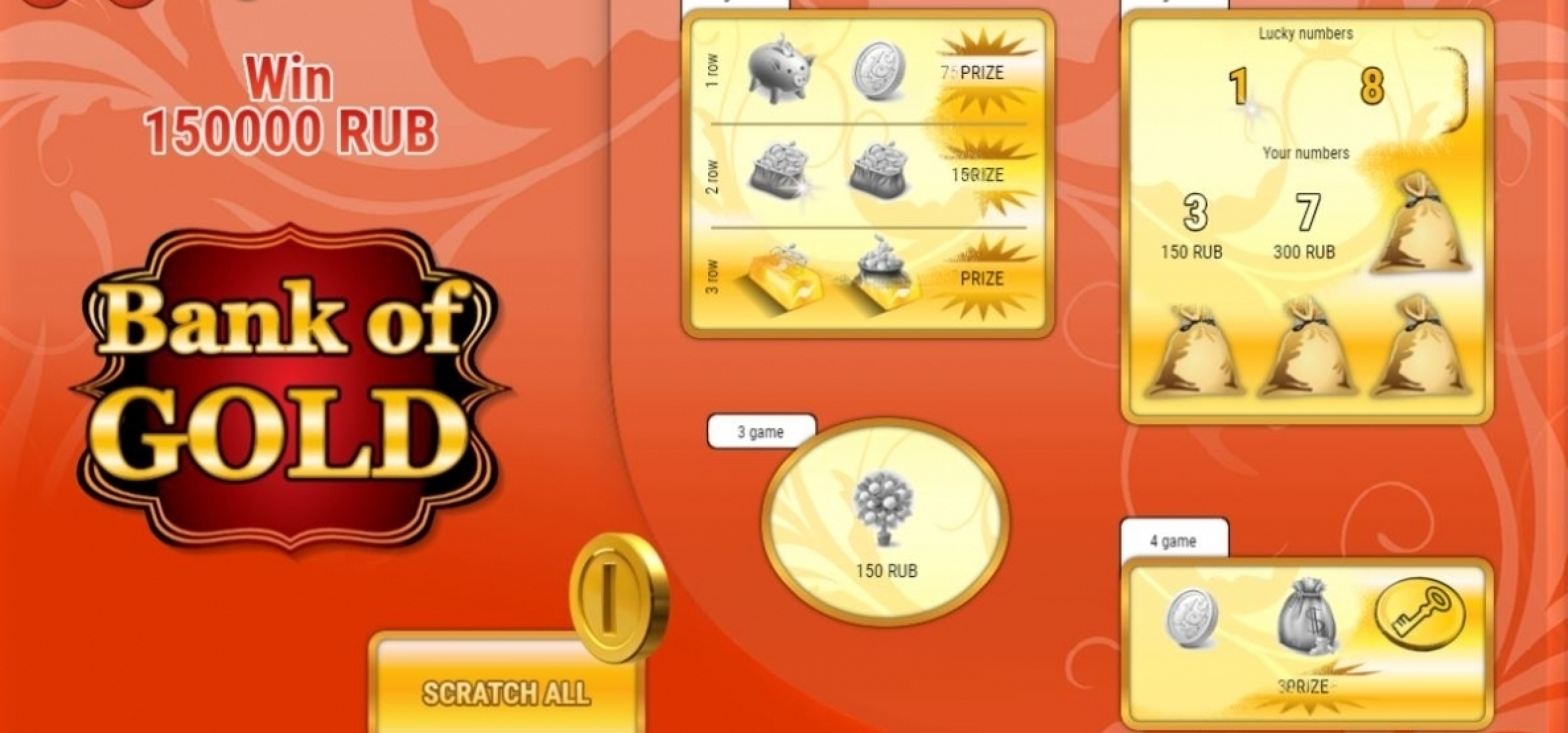 The Bank of Gold Online Slot Demo Game by SuperlottoTV