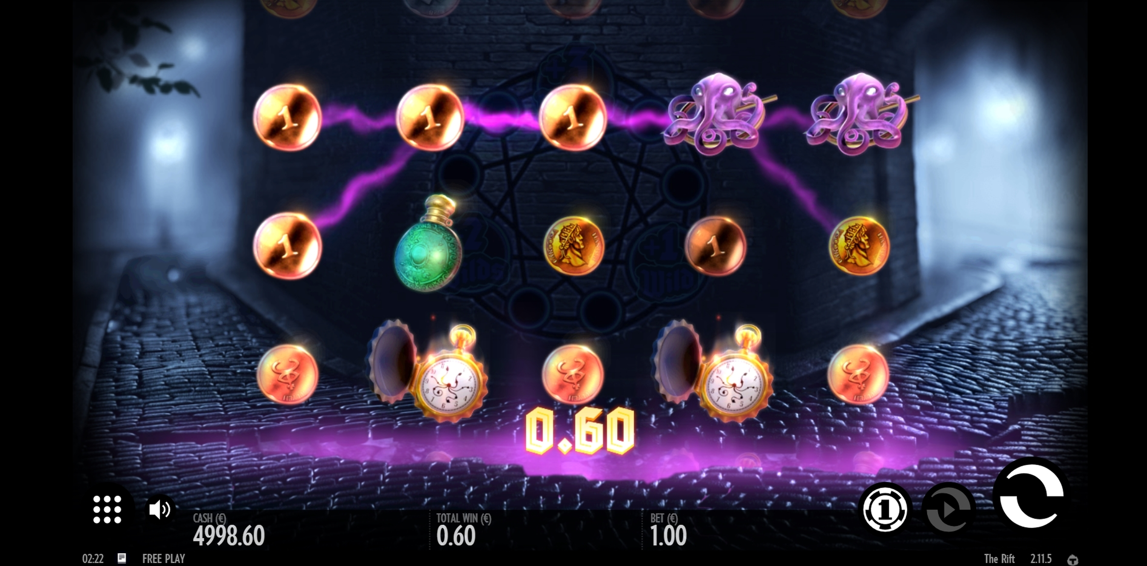Win Money in The Rift Free Slot Game by Thunderkick