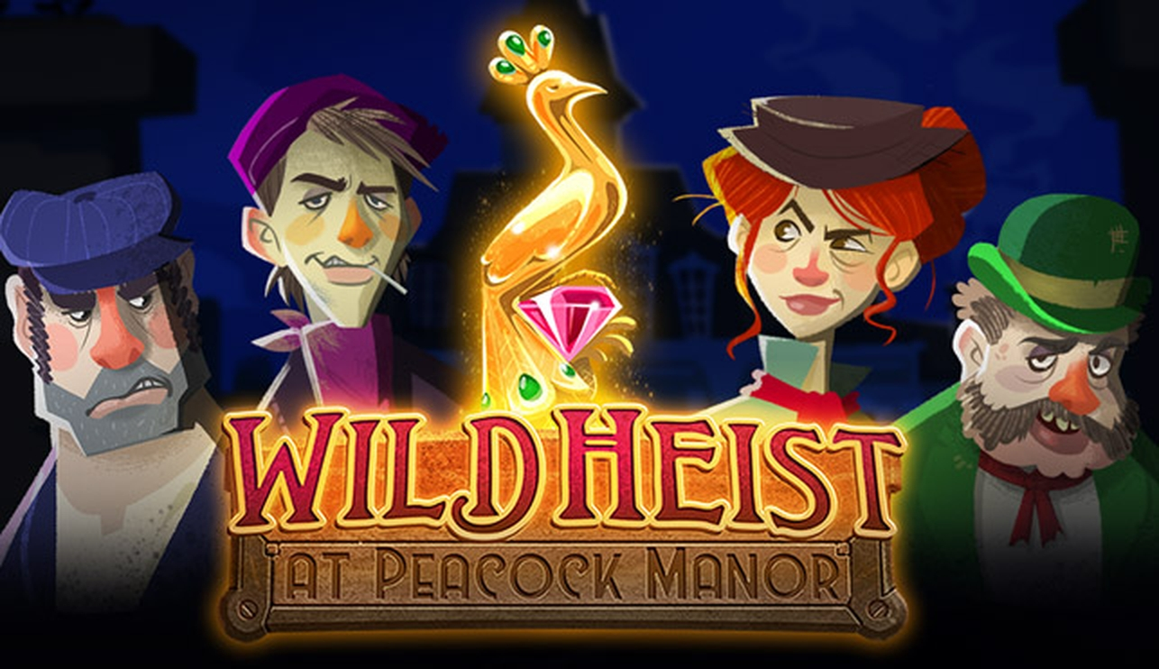 The Wild Heist at Peacock Manor Online Slot Demo Game by Thunderkick