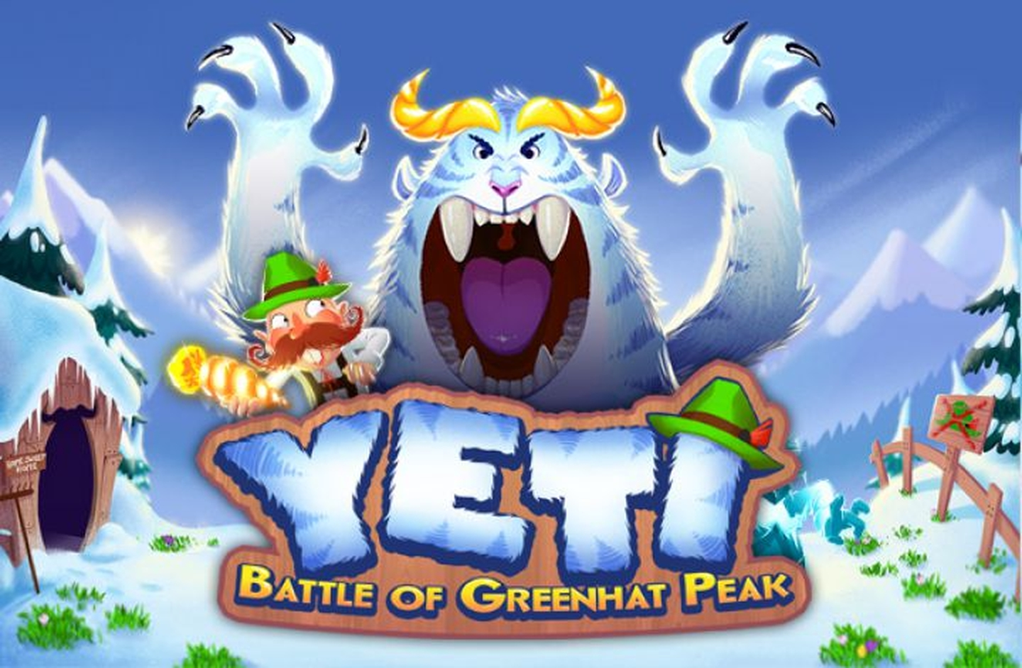 The Yeti Battle of Greenhat Peak Online Slot Demo Game by Thunderkick