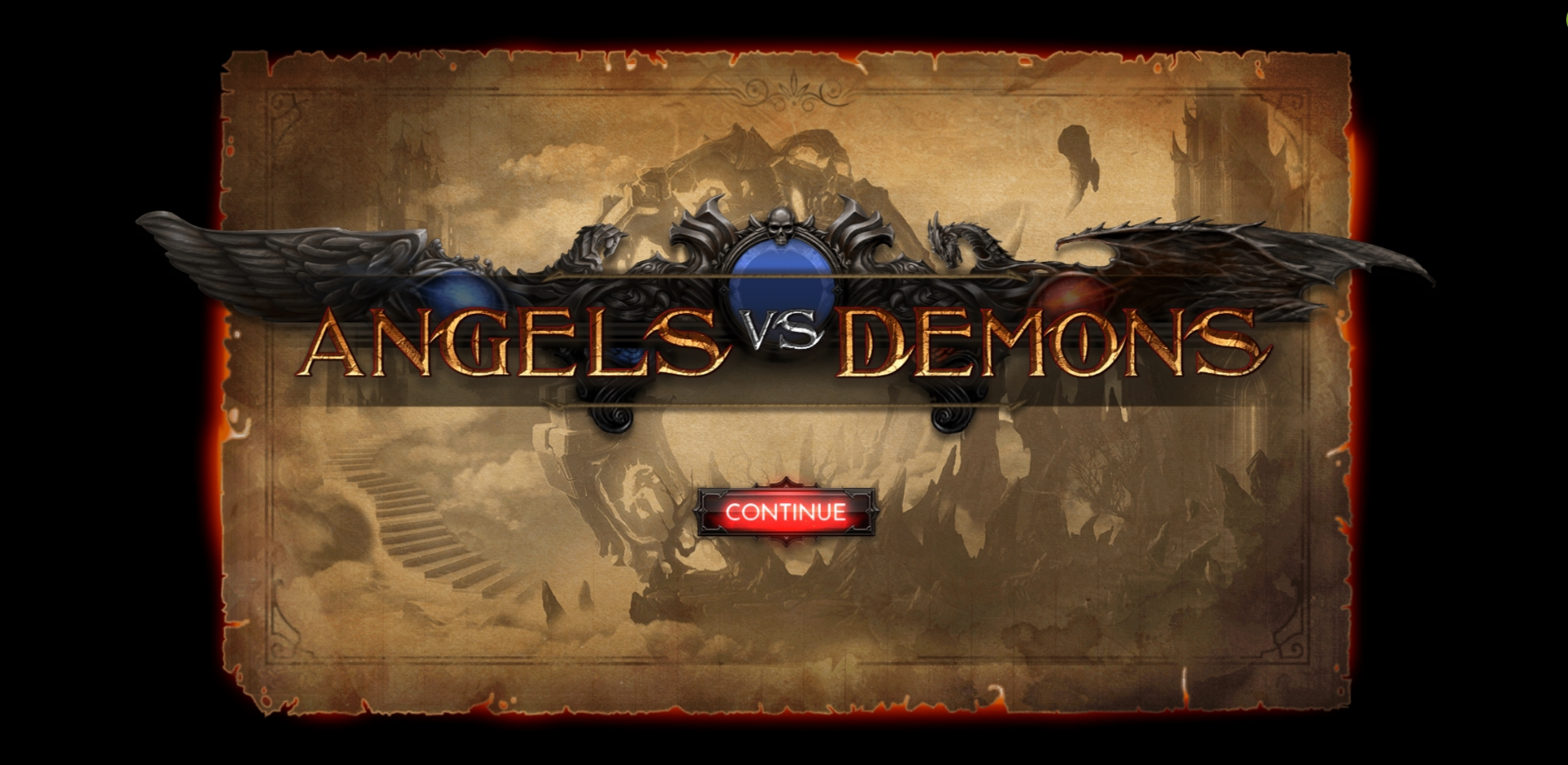 Play Angels vs Demons Free Casino Slot Game by Thunderspin
