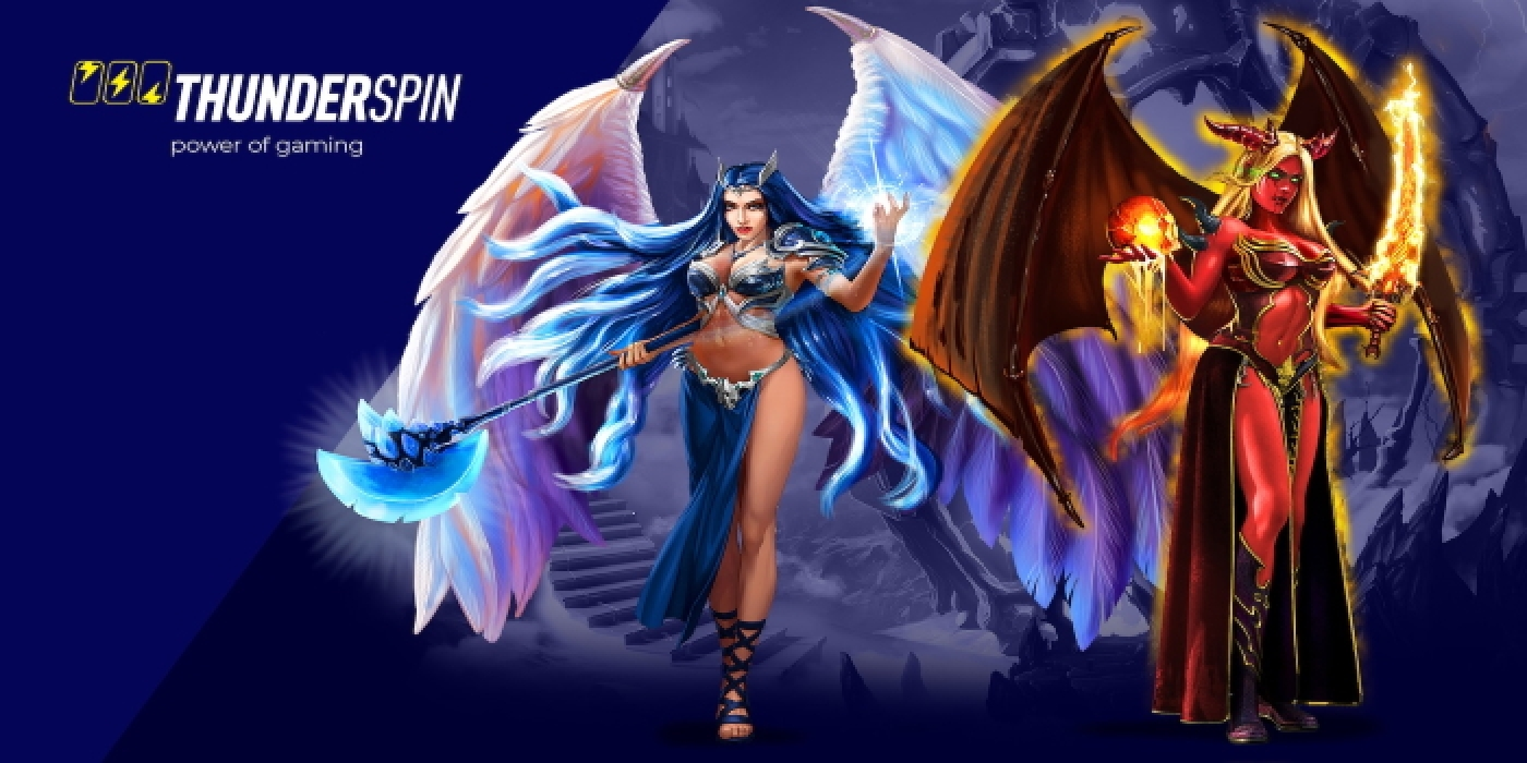 The Angels vs Demons Online Slot Demo Game by Thunderspin