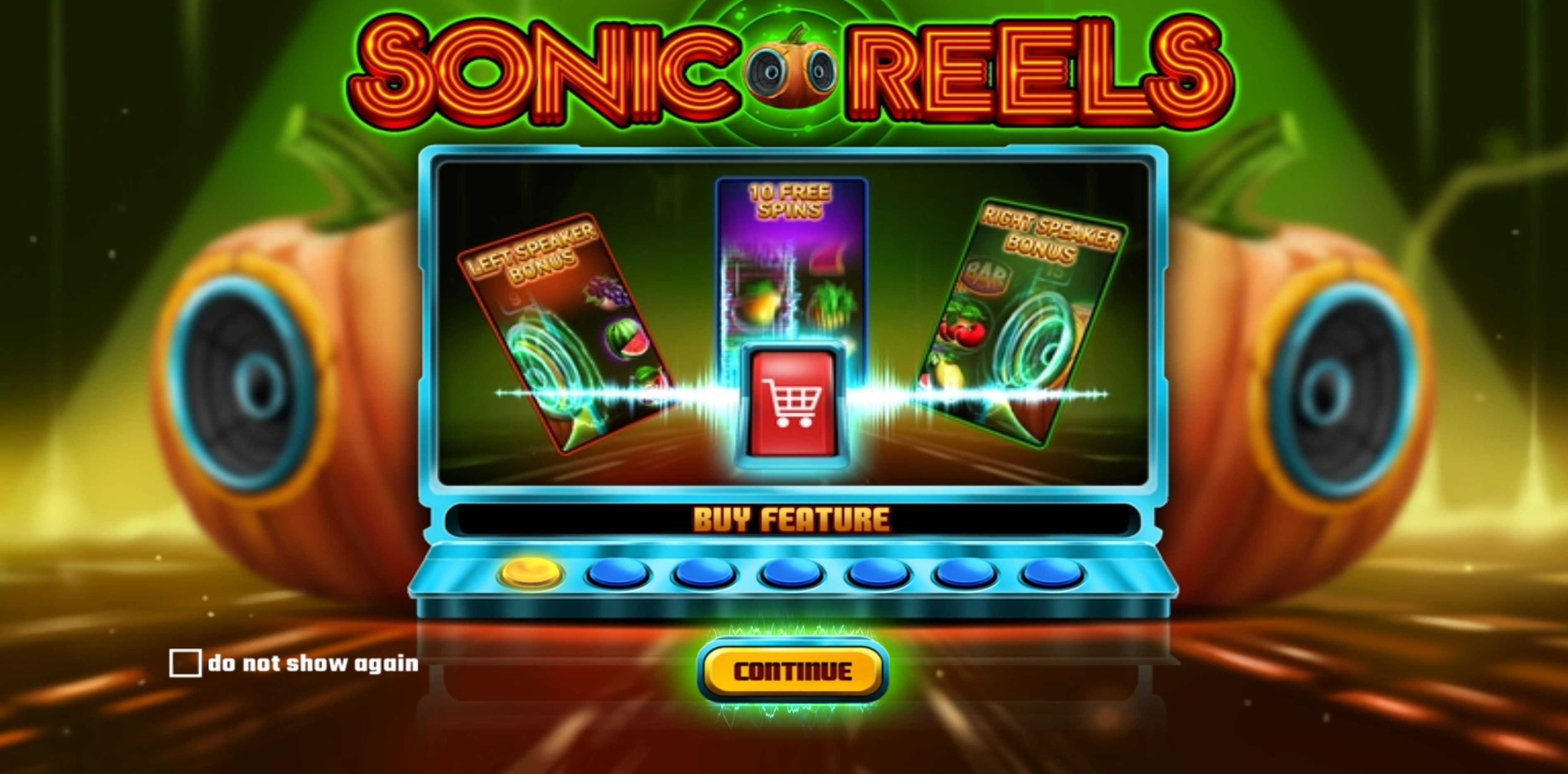 Play Sonic Reels Free Casino Slot Game by Wazdan