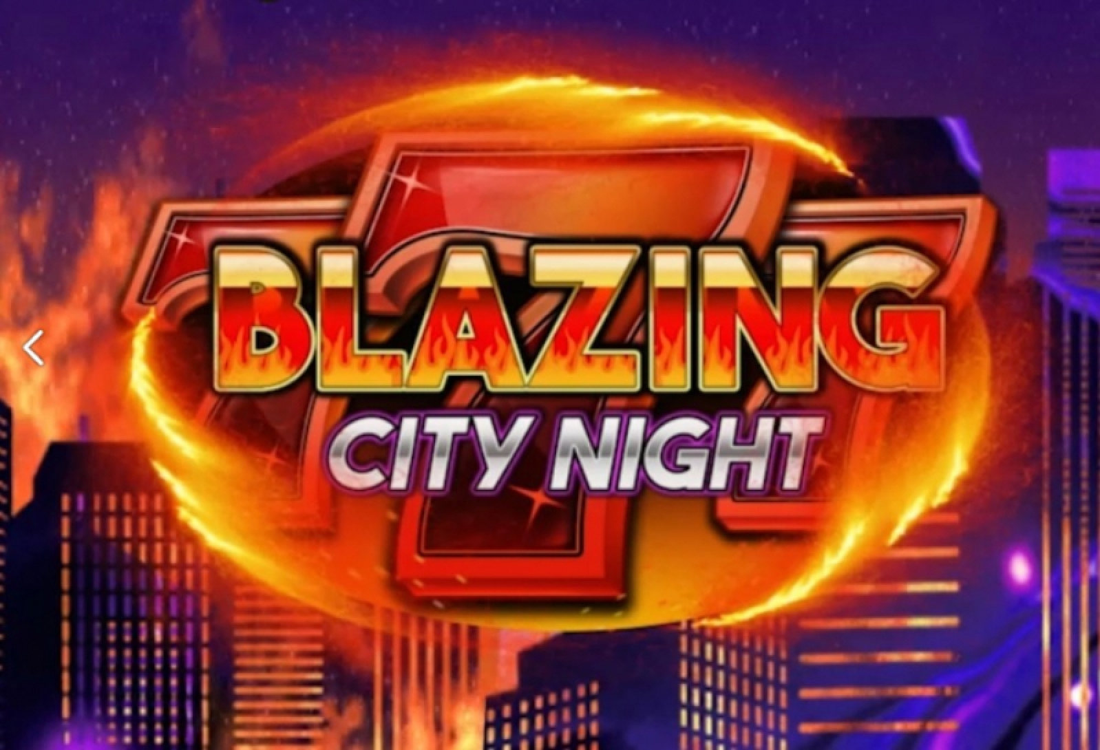 The Blazing City Night Online Slot Demo Game by We Are Casino