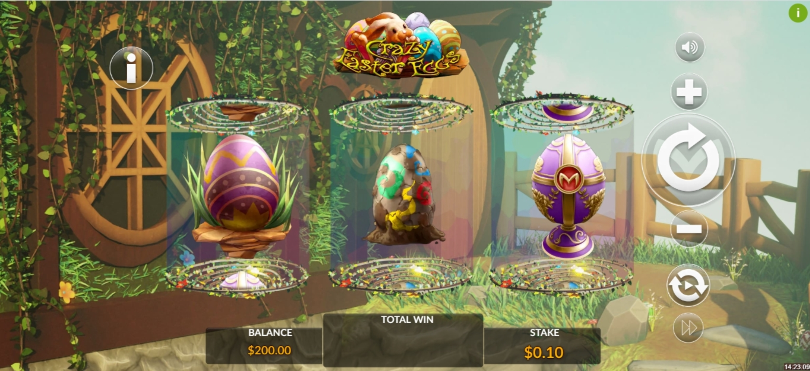 Reels in Crazy Easter Eggs Slot Game by Maverick