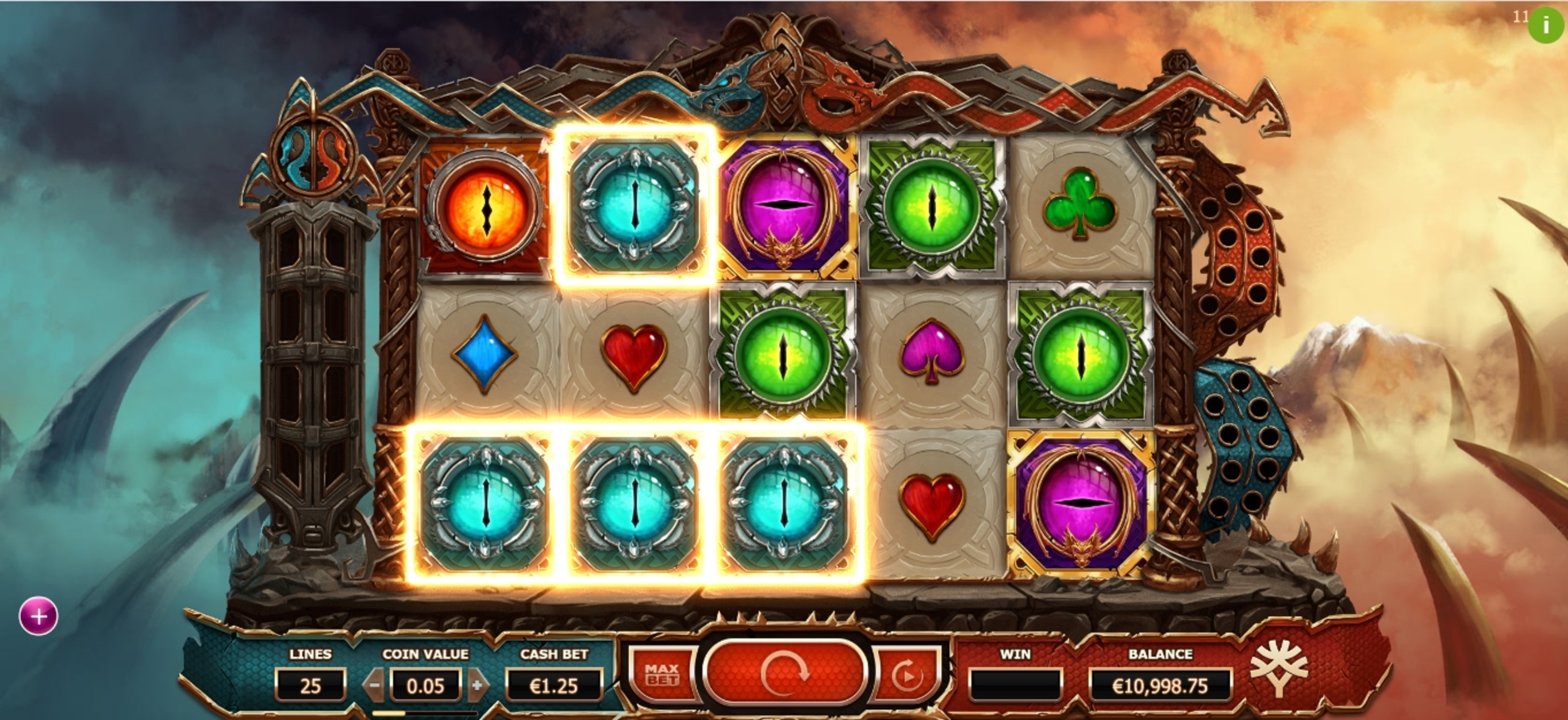 Win Money in Double Dragons Free Slot Game by Yggdrasil