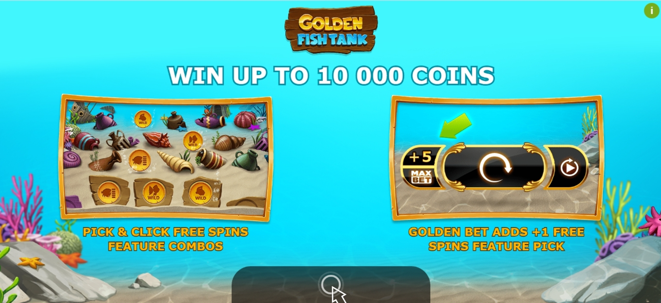 Play Golden Fish Tank Free Casino Slot Game by Yggdrasil