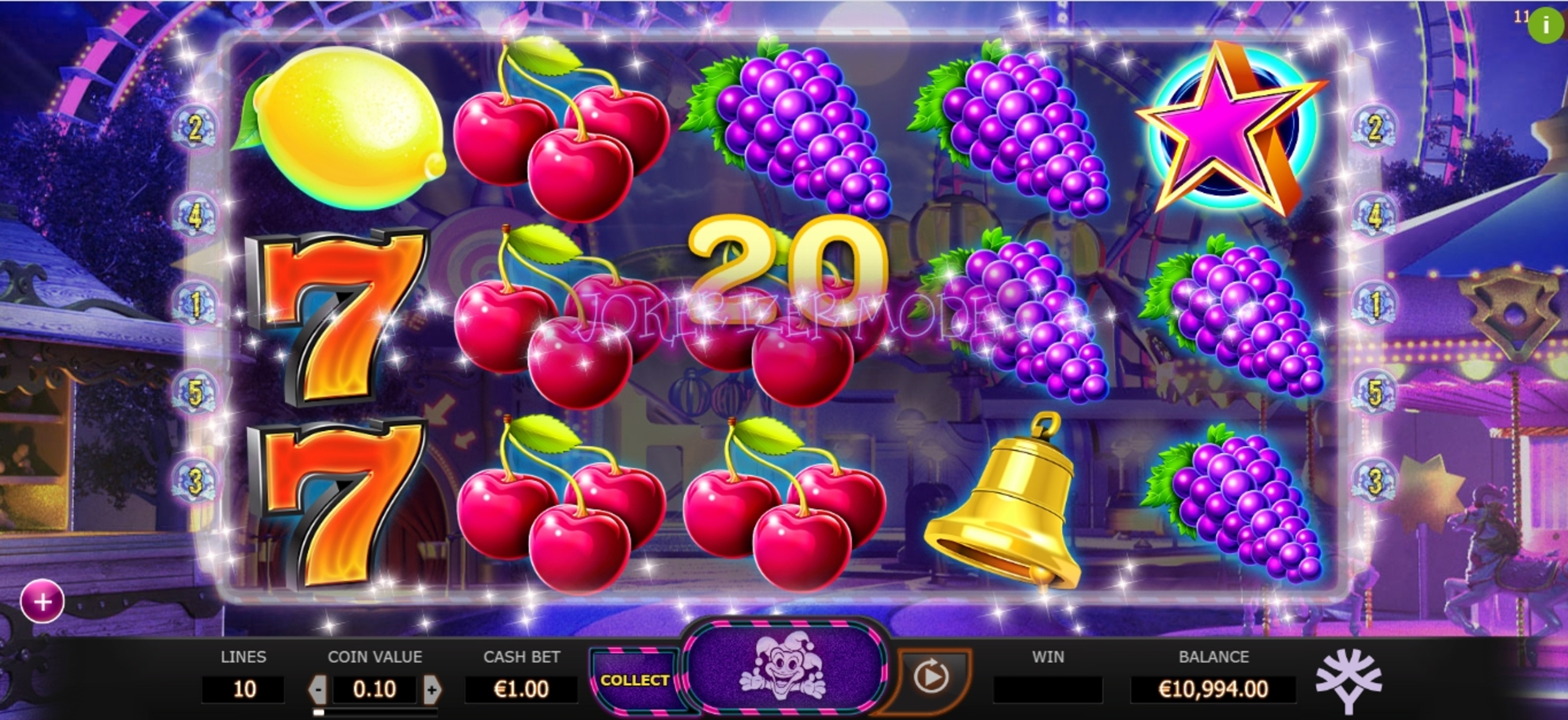 Win Money in Jokerizer Free Slot Game by Yggdrasil